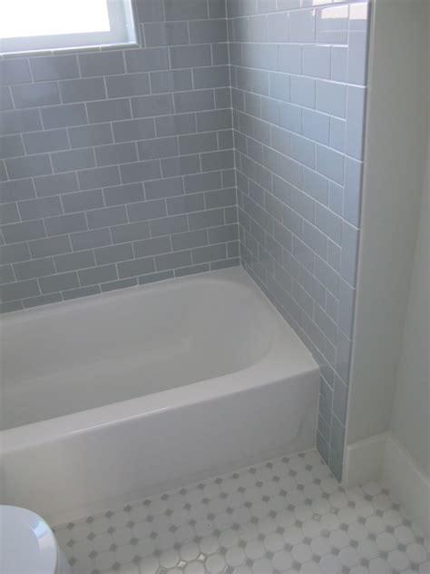 grey subway tile shower gray subway tile contemporary bathroom white gold design