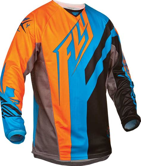 fly motocross jersey 2015 fly racing kinetic division motocross dirtbike mx atv