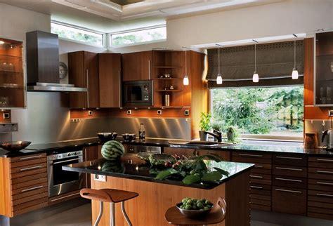 20 Cool Modern Wooden Kitchen Designs