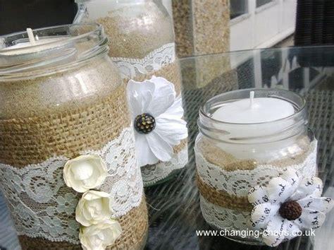 diy wedding decorations lace 17 best images about hessian wedding on pinterest burlap