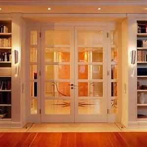 Wohnzimmertür Mit Glas : sprossent r mit zwei fl geln und 2 seitenteilen verglasung facettenbeschliffenes glas ~ Watch28wear.com Haus und Dekorationen