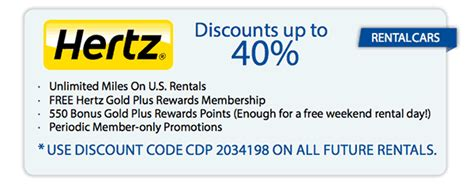 20224 Hertz Promotional Coupon Code by Hertz Coupon May 2016 Specialist Of Coupons
