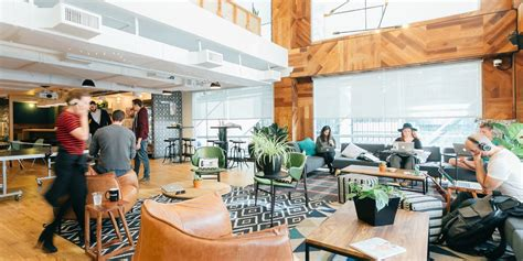 wework  double seattle footprint     working