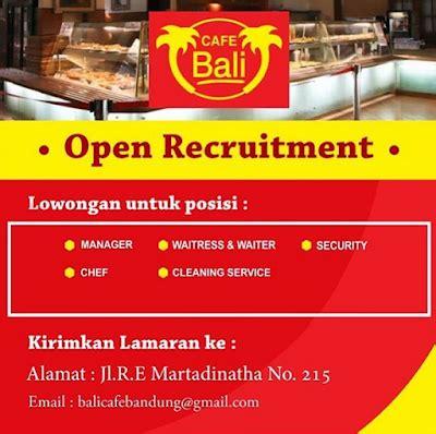I'tikaf ramadhan di masjidil haram. Lowongan Kerja Cafe Bali Bandung Jl RE Martadinatha | Loker Karir