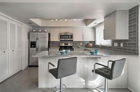 30 Gray and White Kitchen Ideas   Designing Idea
