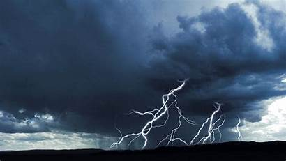 Rain Storm Lightning Clouds Sky Thunderstorm Wallpapers