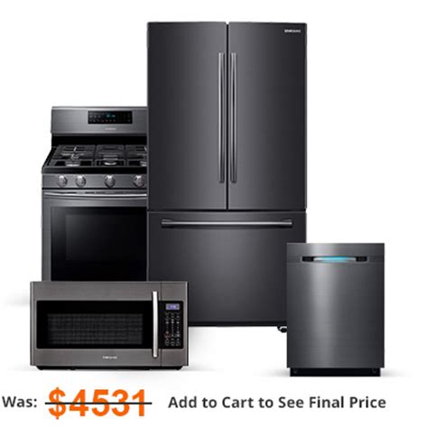 kitchen appliance packages  home depot