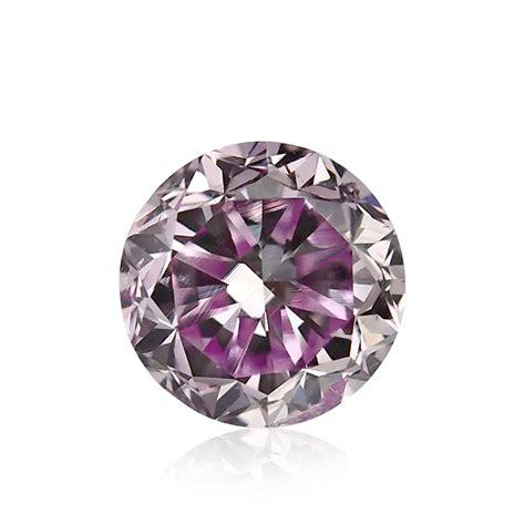 carat fancy pink purple diamond  shape