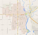 Yuba City California Map - United States