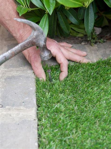 installing lawn installing artificial lawn tips and guide from eco synethetic grass
