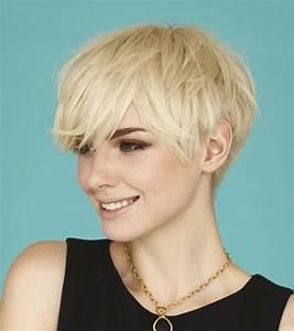Coiffure Blonde Courte : coiffure courte femme blonde ~ Melissatoandfro.com Idées de Décoration
