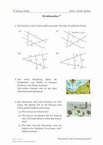 Scheitelpunkt Berechnen Aufgaben Mit Lösungen : aufgaben strahlens tze mit l sungen koonys schule 4181 ~ Themetempest.com Abrechnung