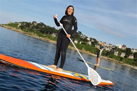 e stand up paddle nautisme en bretagne