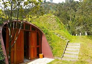 Futuristic, Underground Hobbit House by Green Magic Homes ...