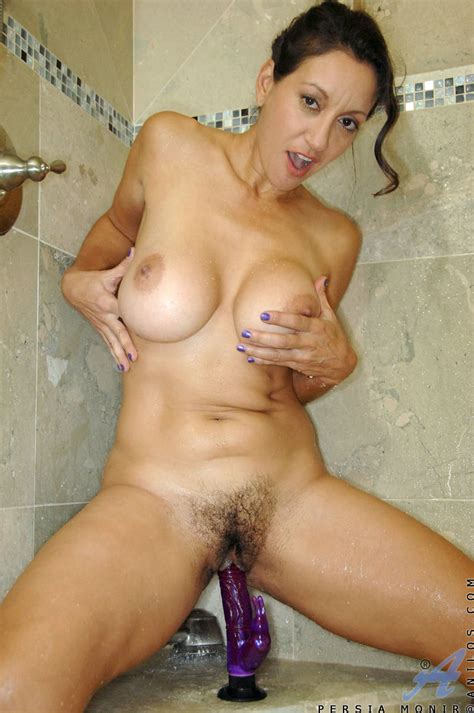 hot milf Persia Monir masturbates In The Shower Free cougar sex