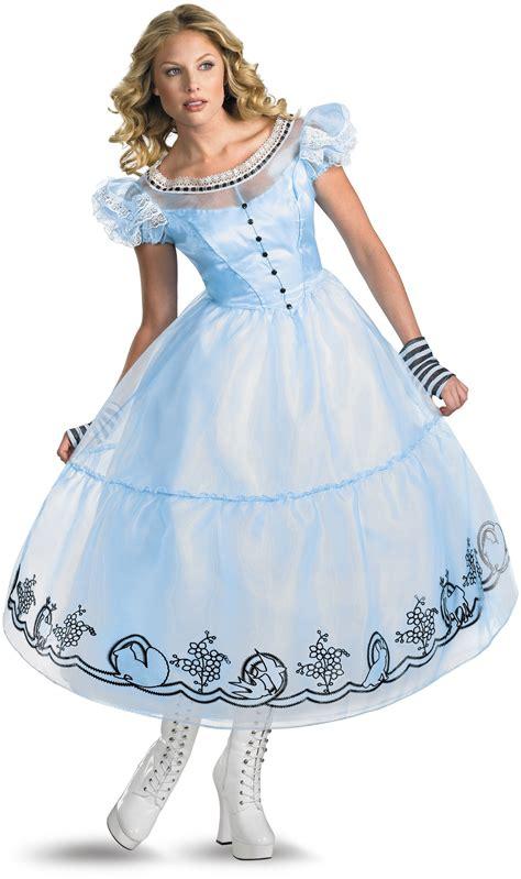 Alice In Wonderland Movie Deluxe Alice Adult Womens