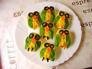 Gekochte Eier Dekorieren : gef llte eier mit gurke von aurora ~ Markanthonyermac.com Haus und Dekorationen