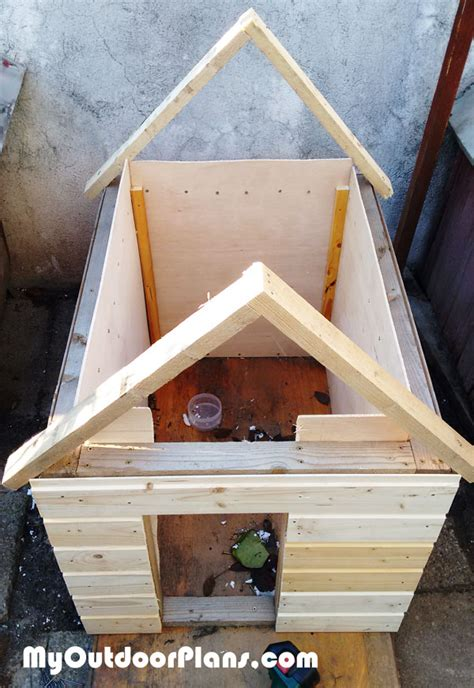 diy insulated dog house myoutdoorplans  woodworking plans  projects diy shed wooden
