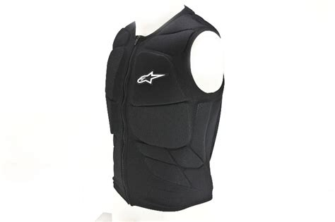 Alpinestars Track Protection Vest Sm Black
