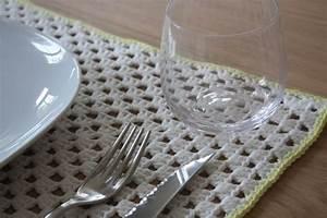 Set De Table Au Crochet : tuto du set de table rectangulaire crochet pinterest tables ~ Melissatoandfro.com Idées de Décoration