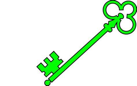 Green Old Key Clip Art At Clker.com