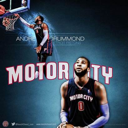 Pistons Detroit Wallpapers Andre Drummond Ipad Portrate