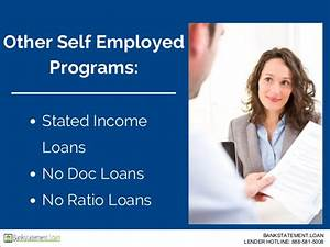 bank statement loans bankstatementloan With stated income no documentation loans