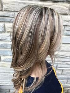 Trendy Hair Highlights Blonde Highlights And Light Brown