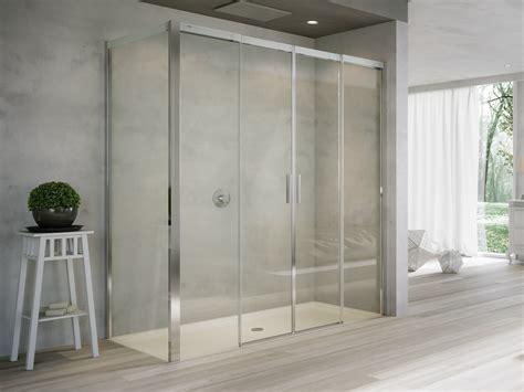 porte in cristallo per doccia box doccia in cristallo con porte scorrevoli acqua r 5000