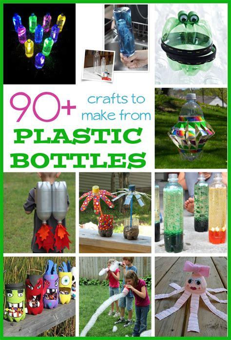 plastic bottle crafts  kids fun family crafts