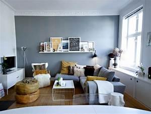 Couch Für Kleine Räume : 1001 wohnzimmer ideen f r kleine r ume zum entlehnen ~ Sanjose-hotels-ca.com Haus und Dekorationen