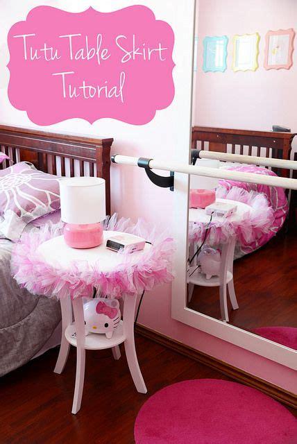 Bedroom Table Skirts by Tutu31 By Kirstenreese Via Flickr Craft Ideas Tutu