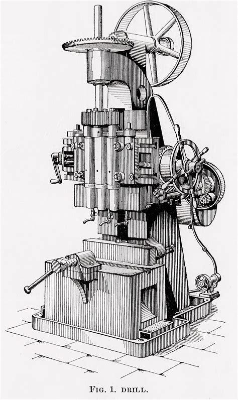 vintage clip art machinery steampunk image printable