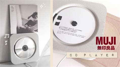 Muji Cd Player by Muji Cd Player Unboxing Wall Mounted Shiro