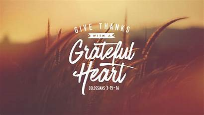 Theme Givethanks Thanks Grateful Heart Give Church
