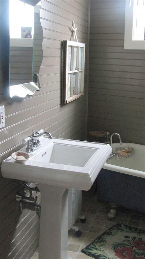 Horizontal Beadboard  Master Bathroom Pinterest