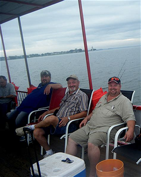 Party Boat On Lake Conroe by Conroe Fishing Adventures Conroe Fishing Barge