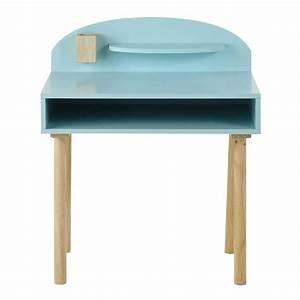 Bureau Enfant En Bois : bureau enfant en bois bleu l 70 cm nuage maisons du monde ~ Teatrodelosmanantiales.com Idées de Décoration
