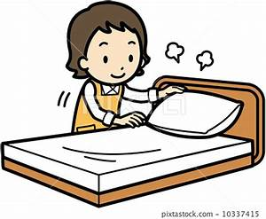 bed making, vector, vectors - Stock Illustration [10337415 ...