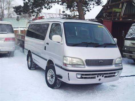 Toyota Hiace Picture by 1998 Toyota Hiace Pictures 3000cc Diesel Automatic For