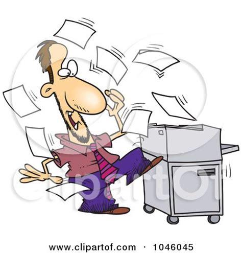 clipart photocopier machine royalty  vector