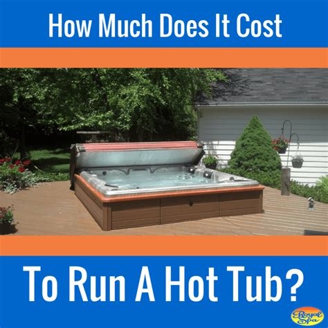 how much does it cost to run a tub royal spa