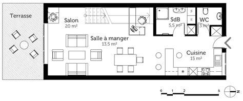 cuisine ete exterieur plan maison à étage avec 1 chambre ooreka