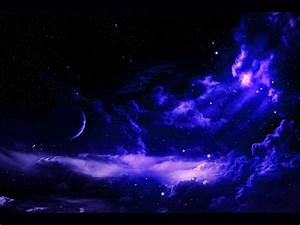 Blue Stars Outer Space | Blue Clouds Outer Space Stars ...
