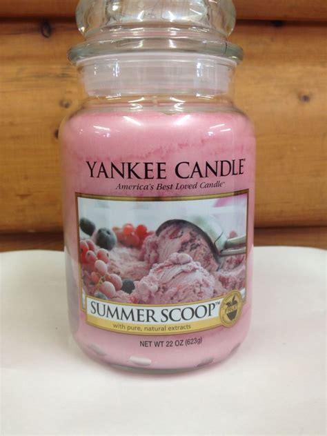 yankee candle country kitchen line yankee candle summer scoop candles summer 1978