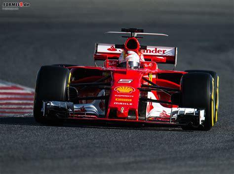 Formel1tests 2017 Ferrari Deutet Wahnsinnstempo An