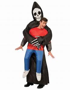 Halloween Kostüm Auf Rechnung : aufblasbares kost m sensenmann f r erwachsene ~ Themetempest.com Abrechnung
