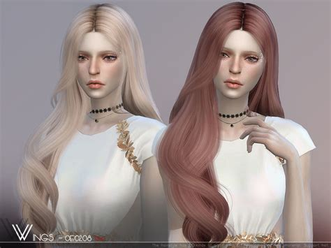 hair oe  wingssims  tsr sims  updates