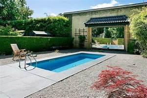 idee amenagement jardin avec piscine 1 jardin moderne With piscine du blanc gravier
