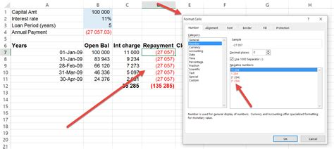 Excel Ceiling Function Negative Numbers by Excel Negative Numbers In Brackets Auditexcel Co Za